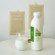 목장에서 당일 착유한 무항생제 꿈목장 저온살균 A2우유