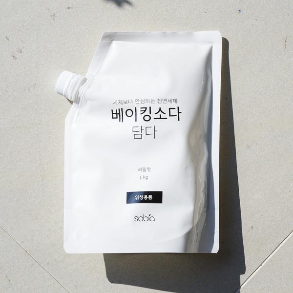 김포시 사회적경제마켓,소비아 베이킹소다 구연산 과탄산소다 세제 1kg 3종 세트
