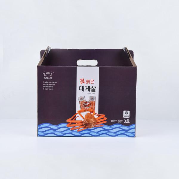 고맙다양양몰 - 농산물직거래쇼핑몰,양양수산 국내산 100% 진 붉은대게살 선물세트