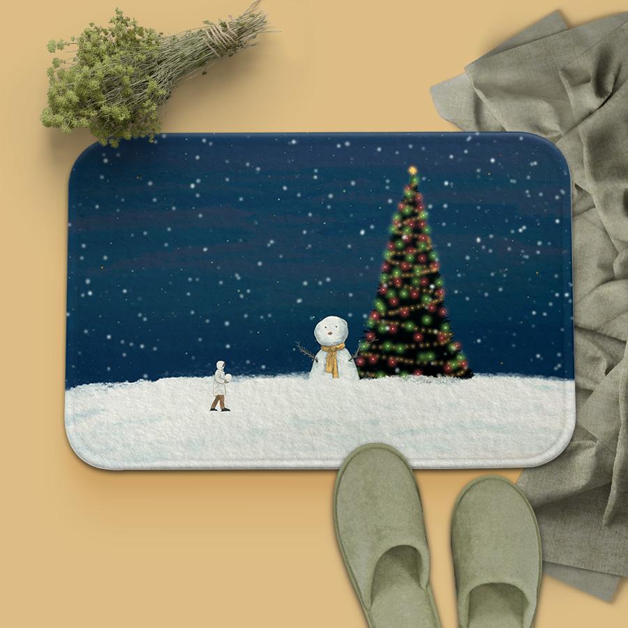 스마트 스토어에서 구입가능한 상품입니다. 크리스마스에는 축복을.한량아끼 (발매트)