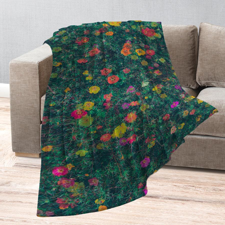 스마트 스토어에서 구입가능한 상품입니다. 花가 난다, 정원 (무릎담요, M - L 150x100cm)