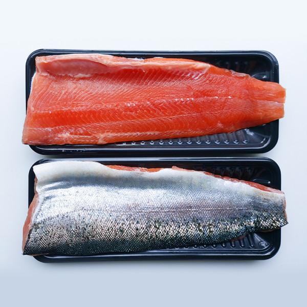 고맙다양양몰 - 농산물직거래쇼핑몰,[설수산]국내산연어 생연어 스테이크용 필렛2팩 600g