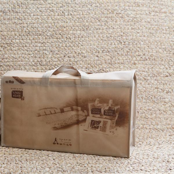 [잔다리마을] 포장용 선물세트(두유10팩+콩국수5팩+두부4모)