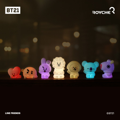 Line Friends BT21 LED mood lamp