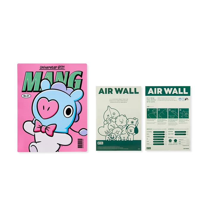 Friends line BT21 MANG air month (type 7)