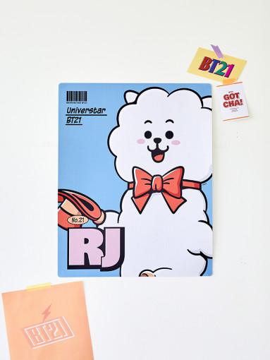 Friends line BT21 RJ air month (type 4)