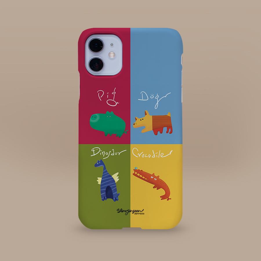 스마트 스토어에서 구입가능한 상품입니다. Animal Name Card, 글림작가임진순  (폰케이스 6종 갤럭시 S21 아이폰12 출시)