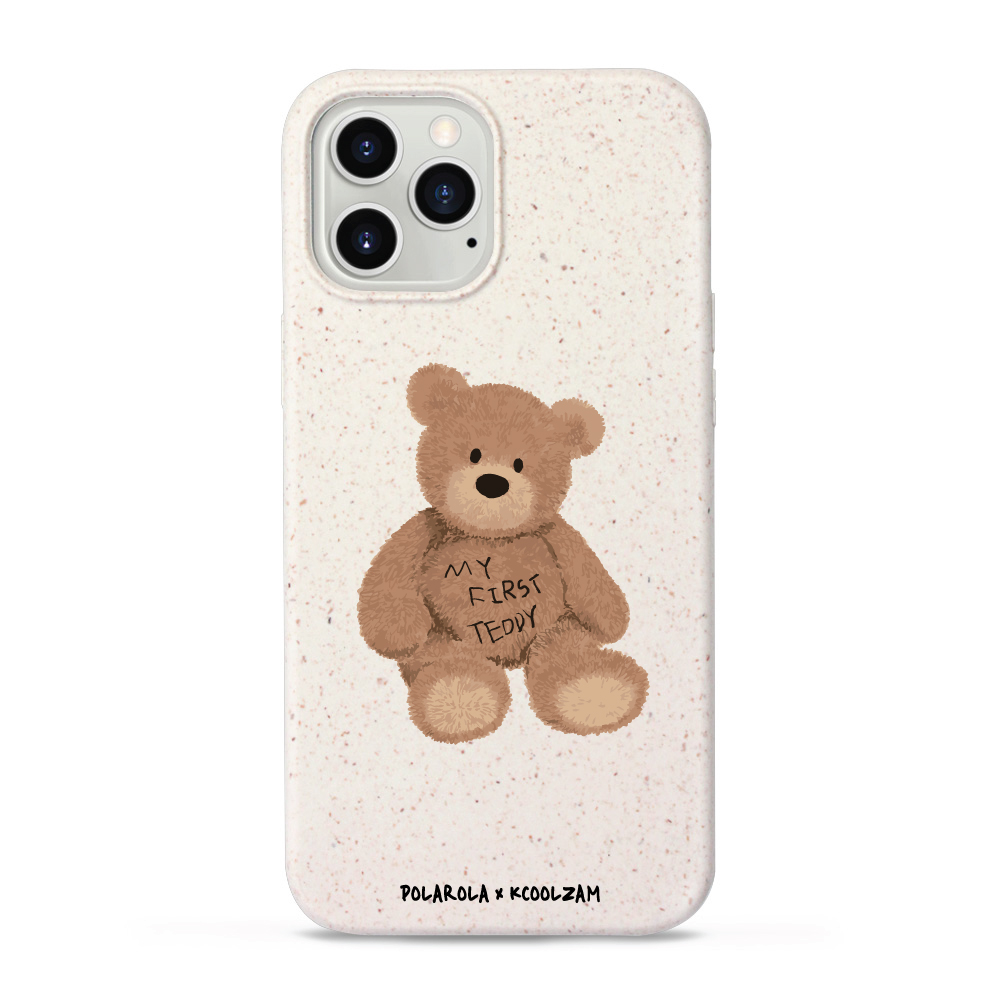[주문제작] 생분해성 친환경 케이스 아이폰 - My first Teddy