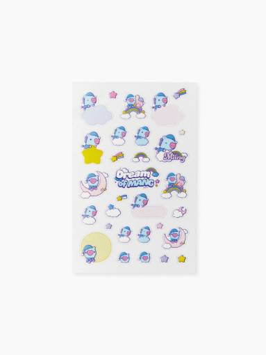 Line Friends BT21 MANG BABY clear stickers Dream of Baby
