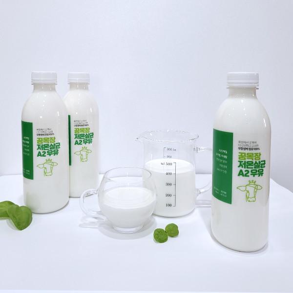 김포시 사회적경제마켓,[우유정기배송]목장에서 당일 착유한 무항생제 꿈목장 저온살균 A2우유
