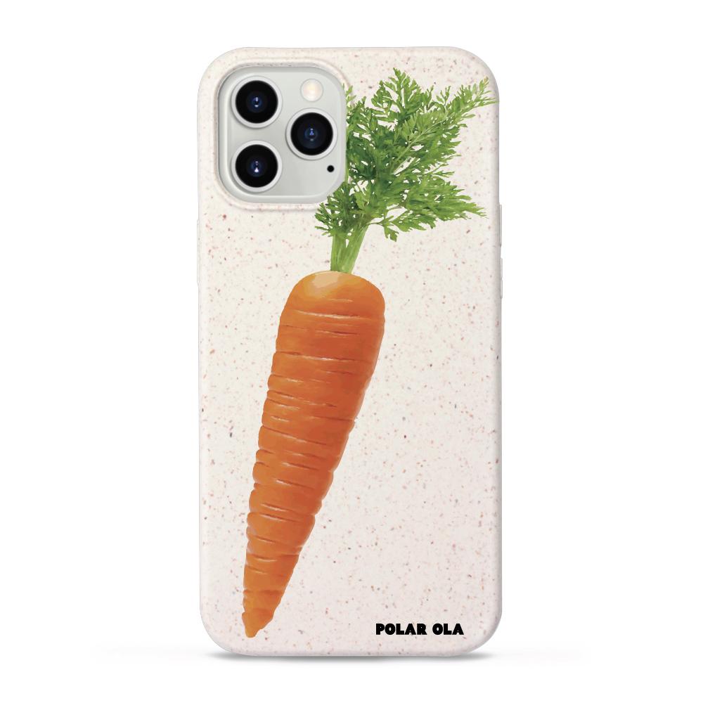 주문제작 생분해성 친환경 케이스 아이폰 - Carrot