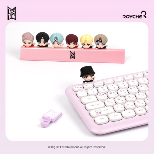 BTS Tiny Tan keyboard Figures