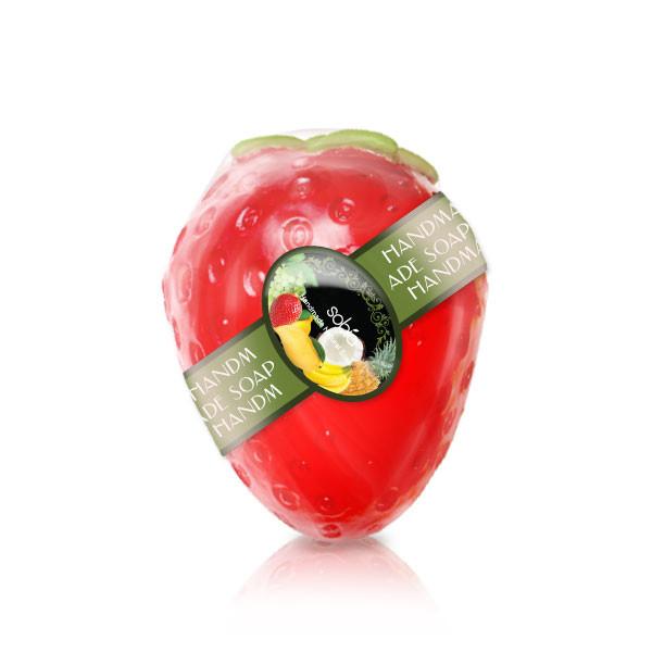 김포시 사회적경제마켓,천연수제 과일비누 - 딸기