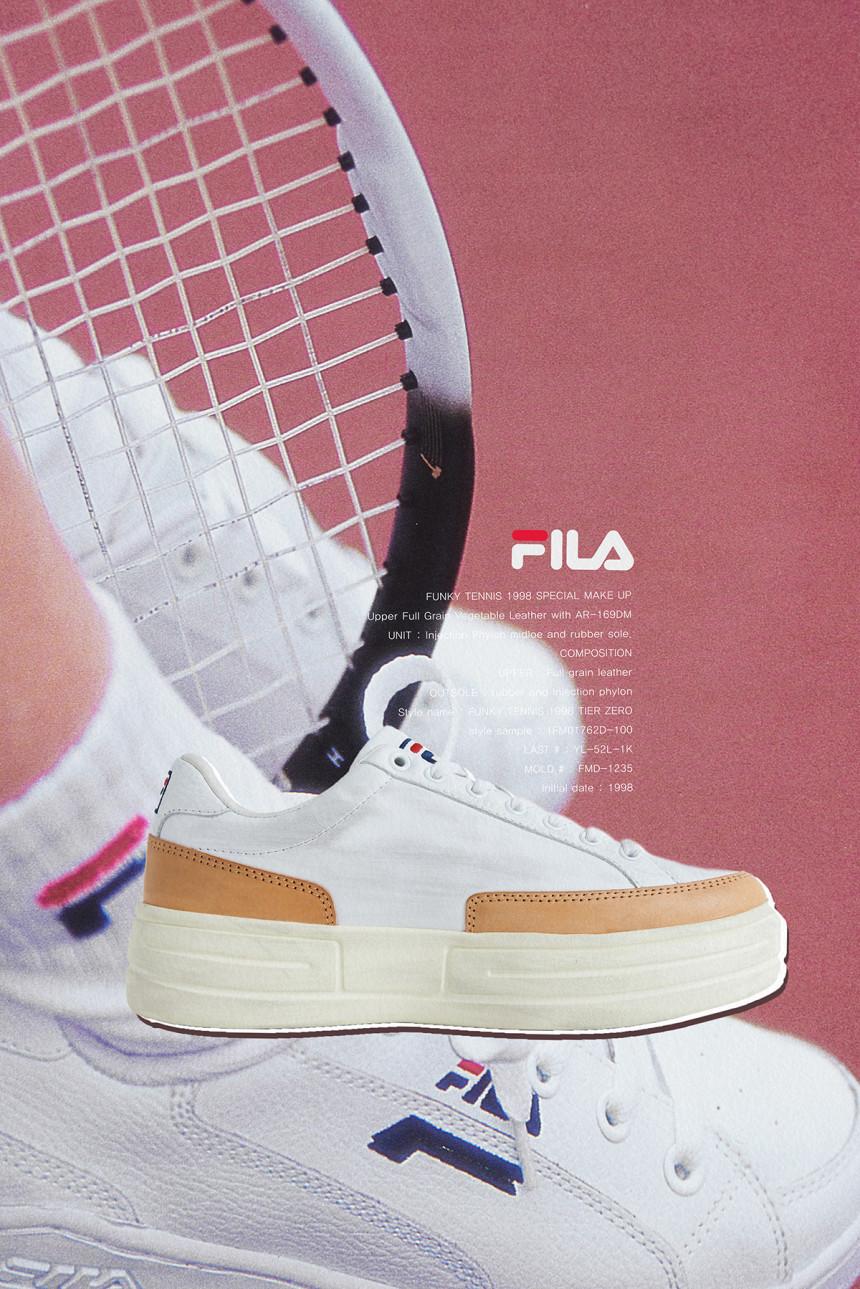 휠라(FILA) 펑키테니스 1998 티어 제로 110주년 (1FM01762D100)