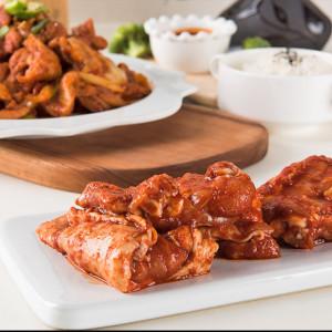 춘천 꼬꼬 닭갈비 양념 간장 숯불 닭갈비 캠핑 요리 음식