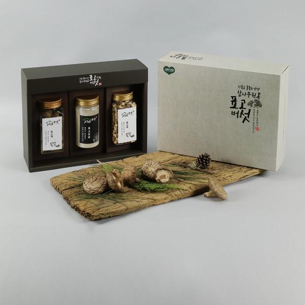 국내산 참나무 원목 표고버섯 선물상자세트 1~5호