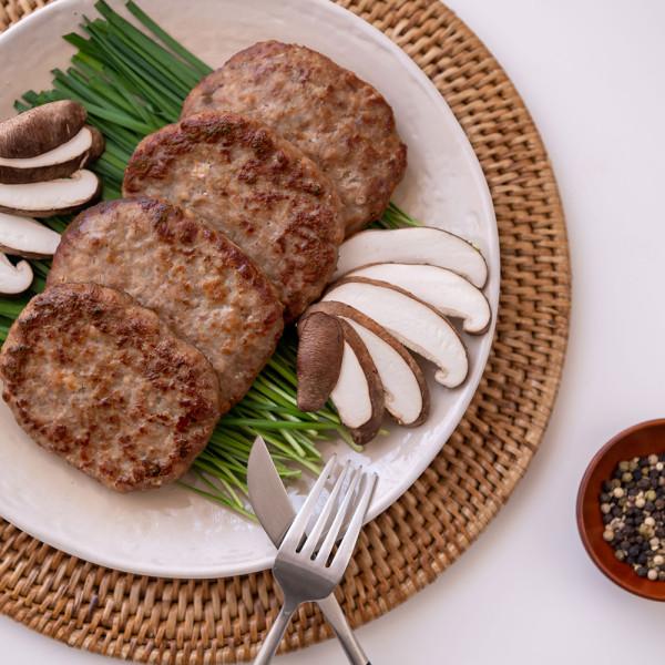 추석선물세트 버섯너비아니 선물세트 500g 3팩 국산 표고 능이 송이 돼지고기 소고기 넣은 떡갈비