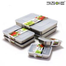 스텐 304 냉동/냉장 보관용기 6종 세트