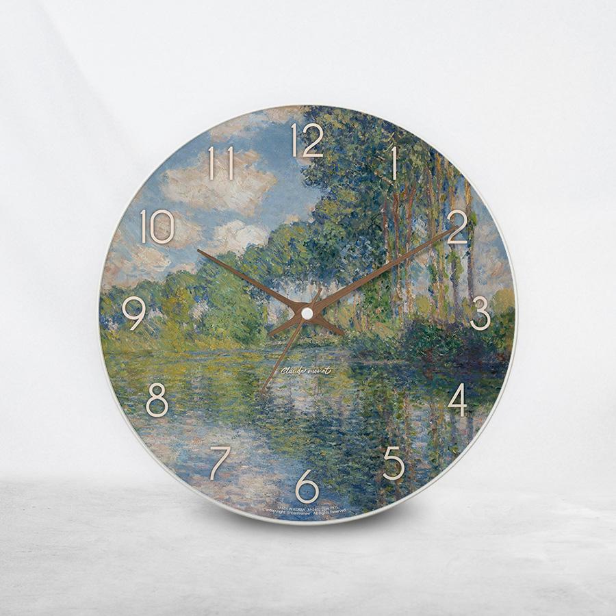 스마트 스토어에서 구입가능한 상품입니다. 엡트 강가의 포플러, 클로드 모네 (벽시계)