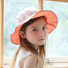 여름 밀크 스트랩 네트썬햇 유아여름모자 키즈모자