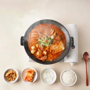 [의정부원조맛집] 오뎅식당 부대찌개 밀키트 / 2인분(기본)