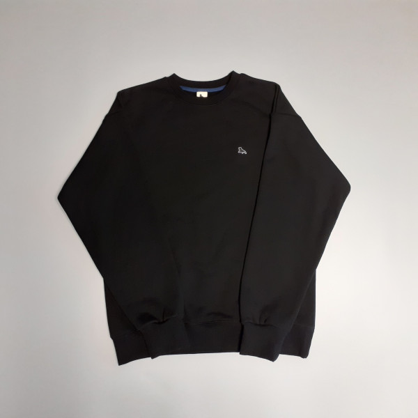 험랑 험복01-검정색 730g (점박이 물범 자수) / 맨투맨, 스웨트 셔츠