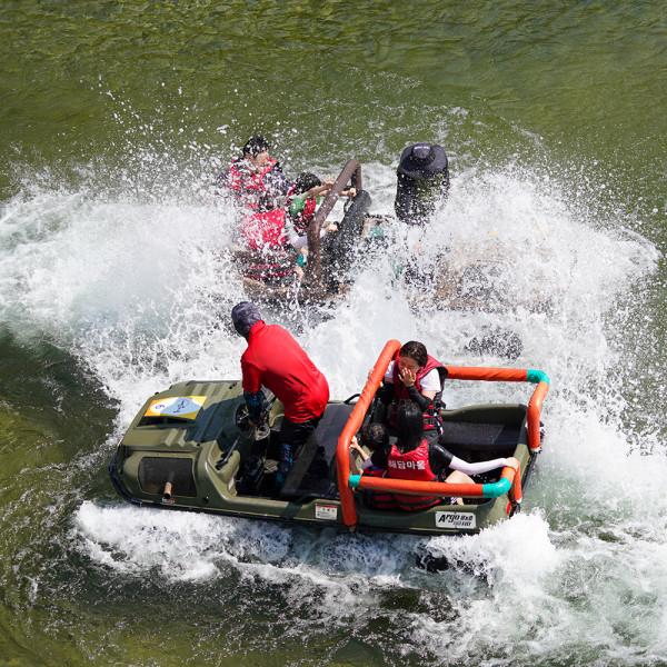 고맙다양양몰 - 농산물직거래쇼핑몰,양양 해담마을 익사이팅 수륙양용차 체험
