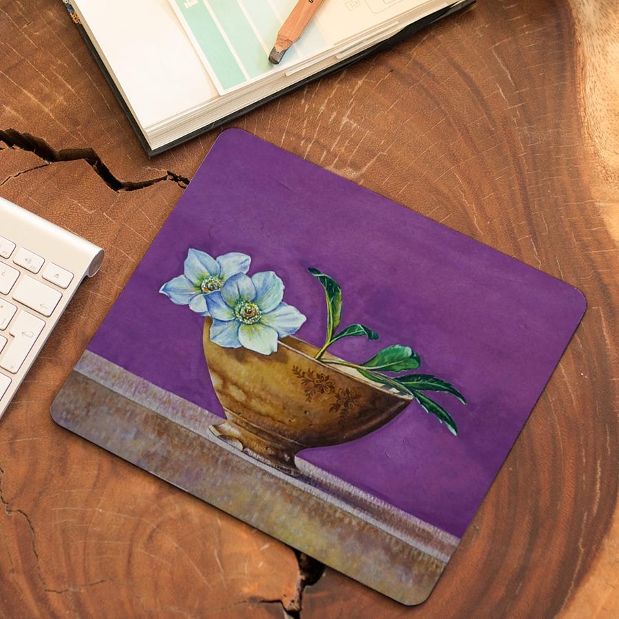 스마트 스토어에서 구입가능한 상품입니다. 꽃과 그릇, 노연희 (마우스패드)