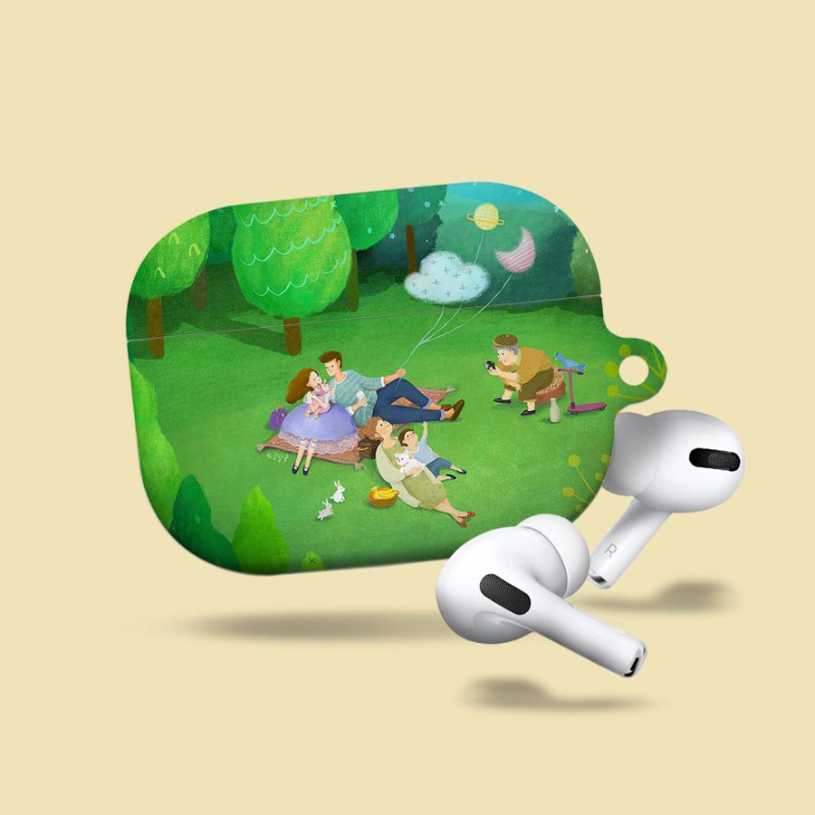 스마트 스토어에서 구입가능한 상품입니다. green picnic, 꿈달콩 (에어팟, 에어팟 프로 케이스)