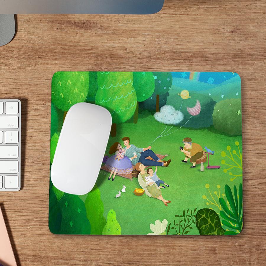 스마트 스토어에서 구입가능한 상품입니다. green picnic, 꿈달콩 (마우스패드)