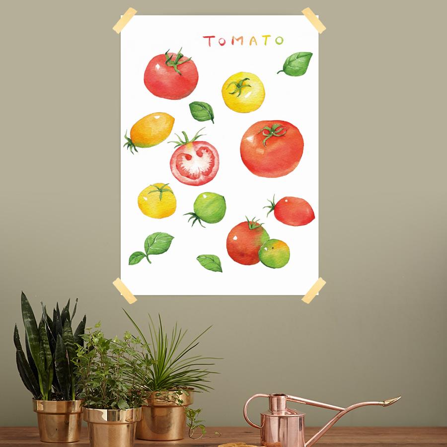 스마트 스토어에서 구입가능한 상품입니다. 토마토, 모소 (종이 포스터, A3 - A1 594x841mm)