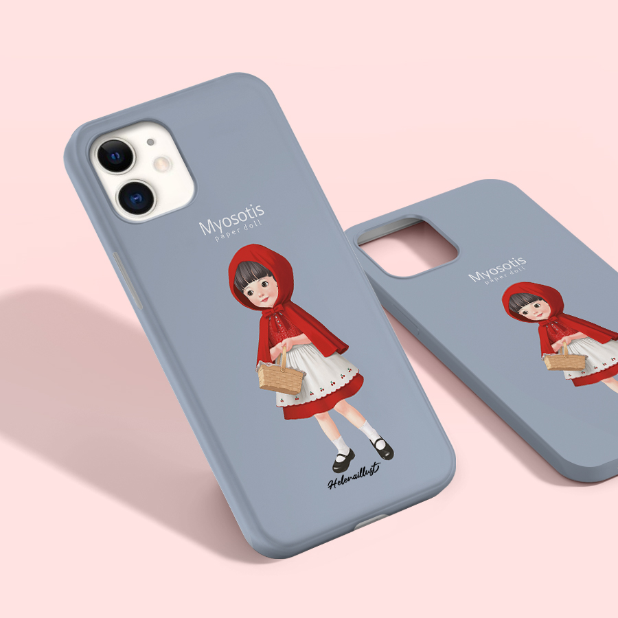 스마트 스토어에서 구입가능한 상품입니다. 종이인형 물망초2, 정헤레나 (폰케이스 6종 아이폰12 갤럭시 S21 출시)