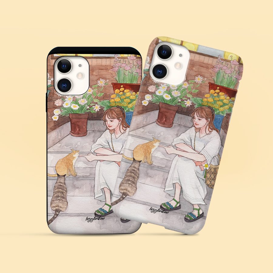 스마트 스토어에서 구입가능한 상품입니다. 봄  고양이, 임희 (폰케이스 6종 아이폰12 갤럭시 S21 출시)