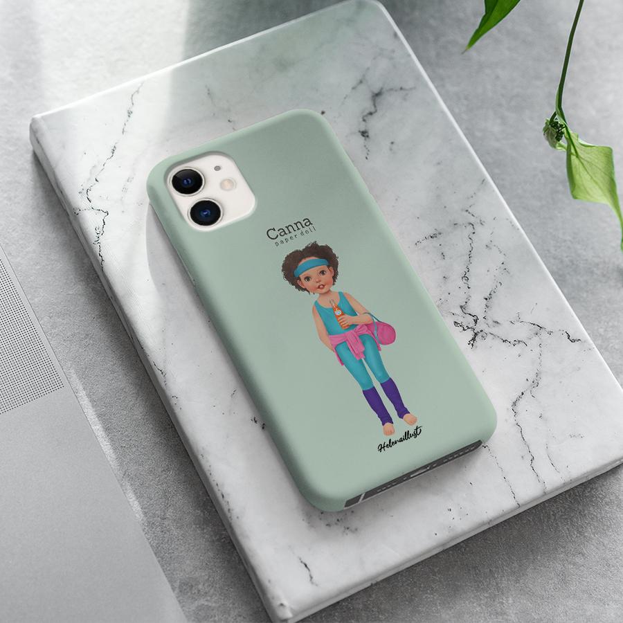 스마트 스토어에서 구입가능한 상품입니다. 종이인형 칸나2, 정헤레나 (폰케이스 6종 아이폰12 갤럭시 S21 출시)