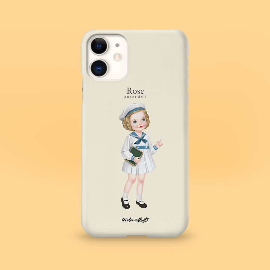 스마트 스토어에서 구입가능한 상품입니다. 종이인형로즈1, 정헤레나 (폰케이스 6종 아이폰12 갤럭시 S21 출시)